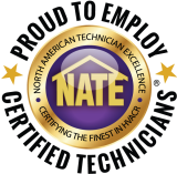 For your AC repair in Mobile AL, trust a NATE certified HVAC contractor.